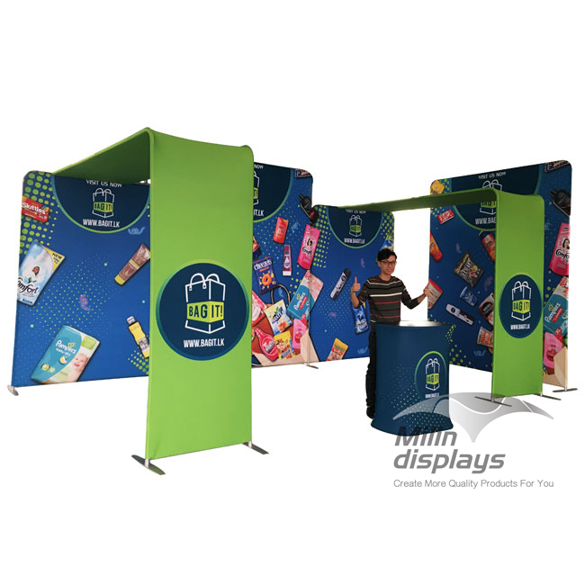 Exhibition booth 3*6m 02