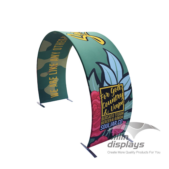 Arch Tension Fabric Displays